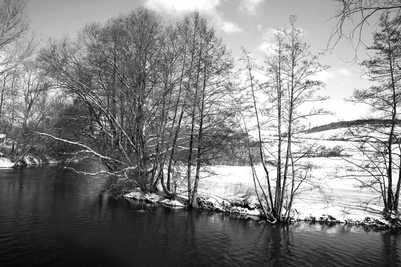 Winter an der Tauber